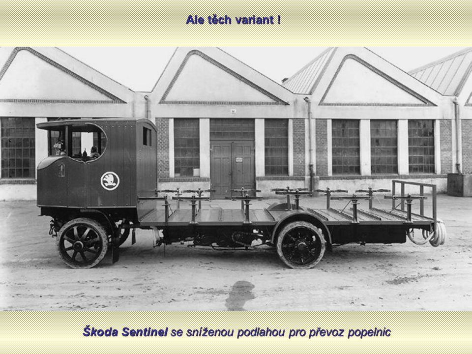 Škoda Sentinel se sníženou podlahou pro převoz popelnic