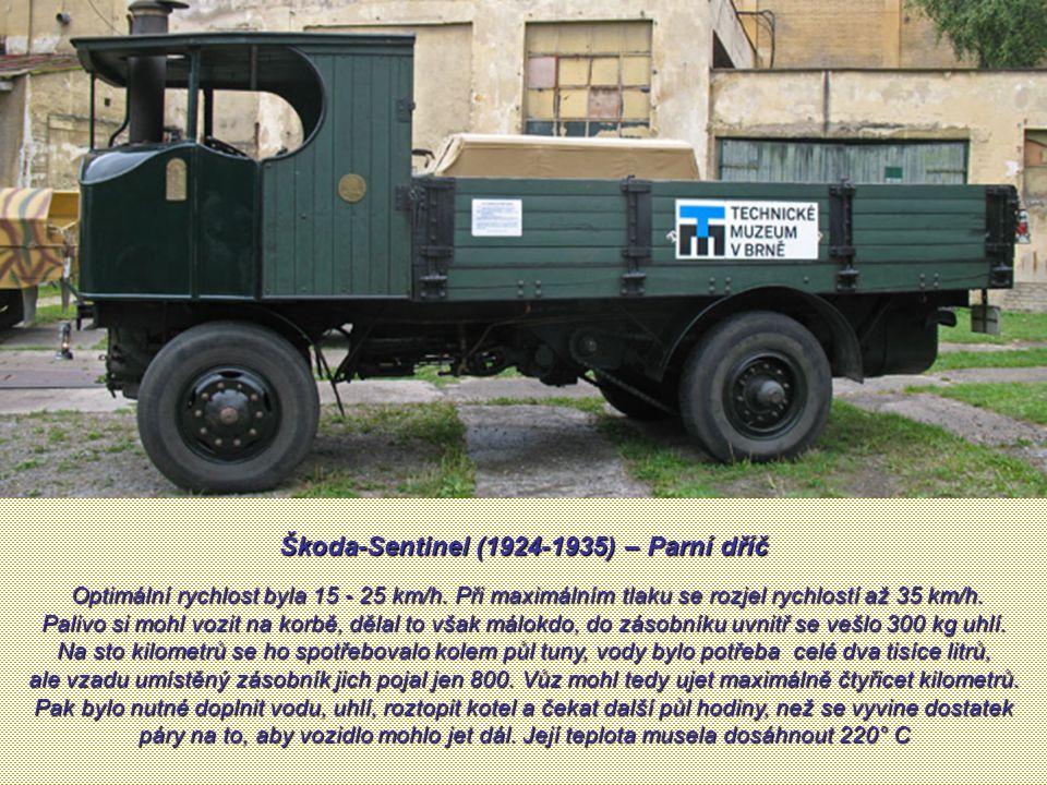 Škoda-Sentinel (1924-1935) – Parní dříč