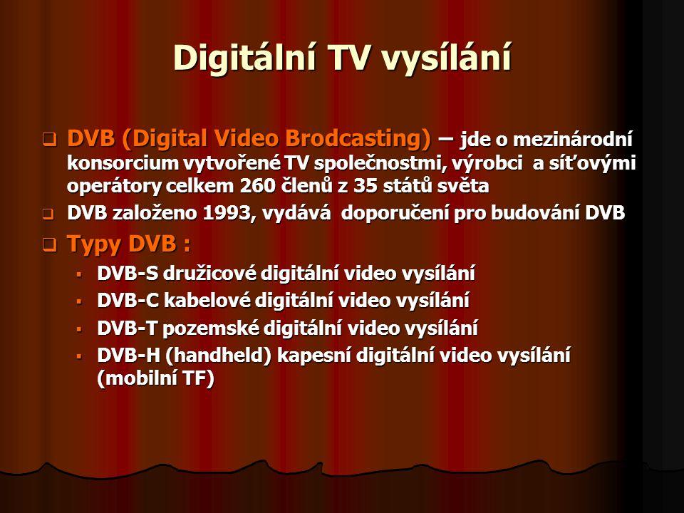 Digitální TV vysílání