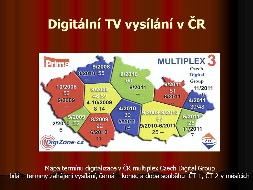 Digitální TV vysílání v ČR
