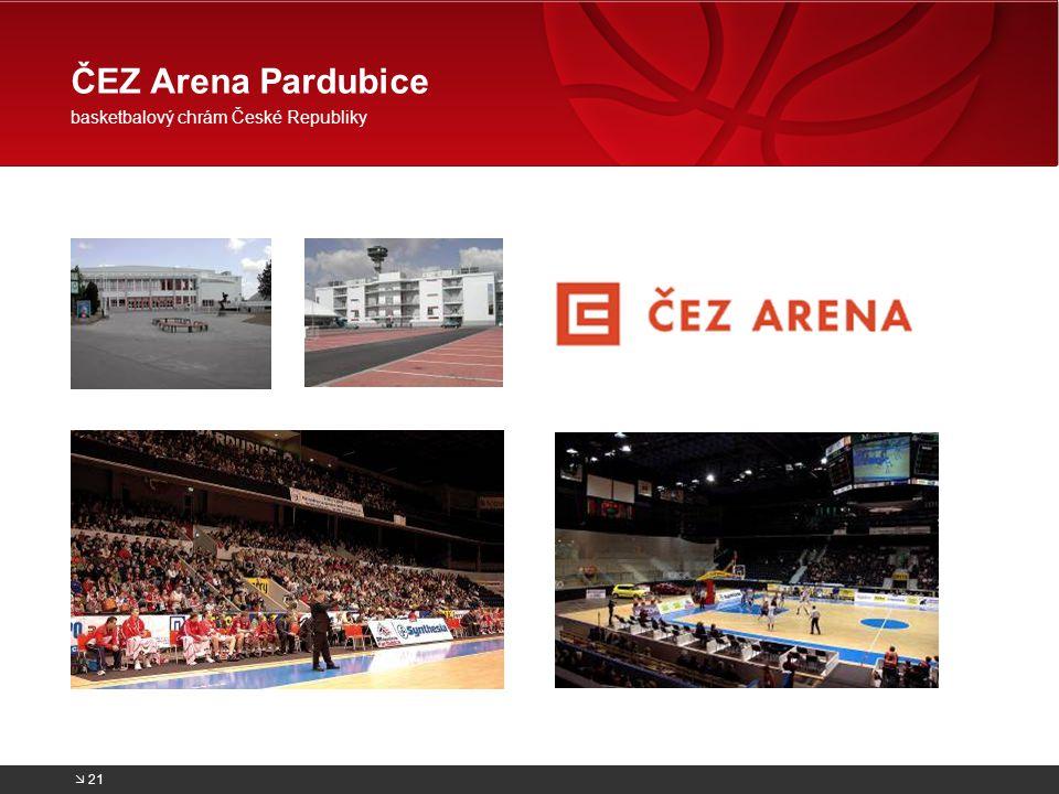 ČEZ Arena Pardubice basketbalový chrám České Republiky