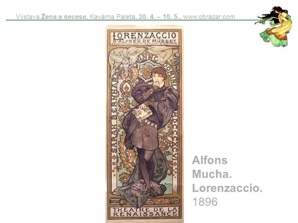 Alfons Mucha. Lorenzaccio. 1896