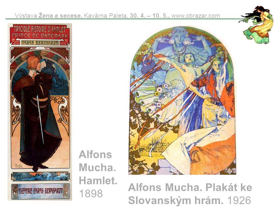 Alfons Mucha. Plakát ke Slovanským hrám. 1926