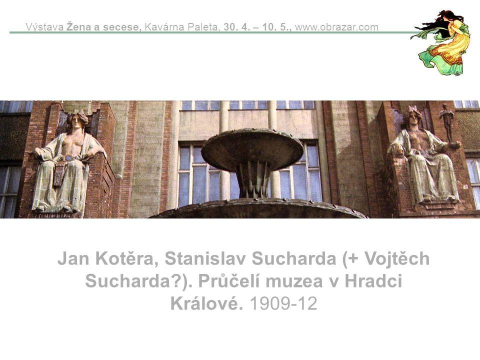 Výstava Žena a secese, Kavárna Paleta, 30. 4. – 10. 5. , www. obrazar