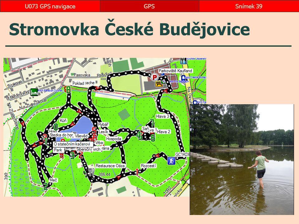 Stromovka České Budějovice