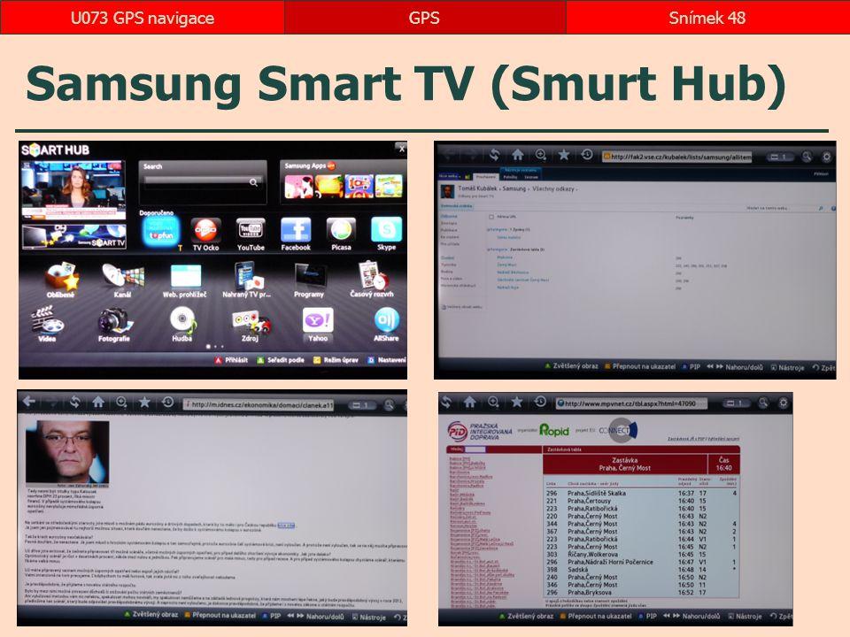 Samsung Smart TV (Smurt Hub)