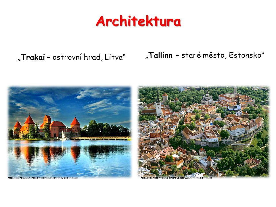 """Architektura """"Tallinn – staré město, Estonsko"""
