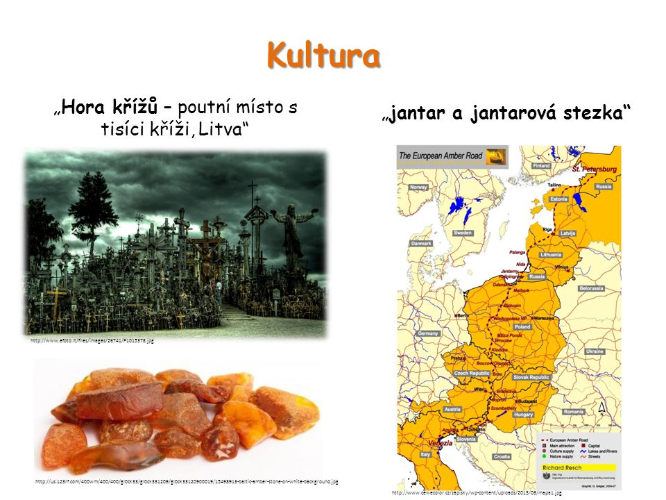 """Kultura """"Hora křížů – poutní místo s tisíci kříži, Litva"""