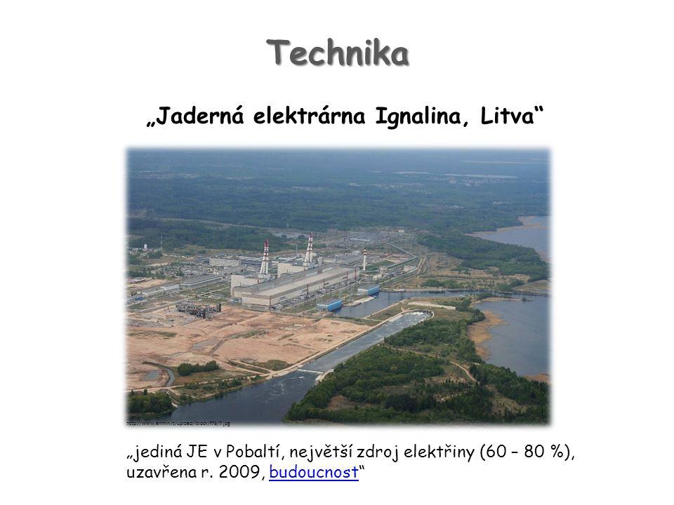 """""""Jaderná elektrárna Ignalina, Litva"""