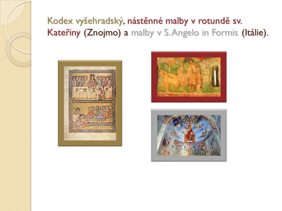 Kodex vyšehradský, nástěnné malby v rotundě sv