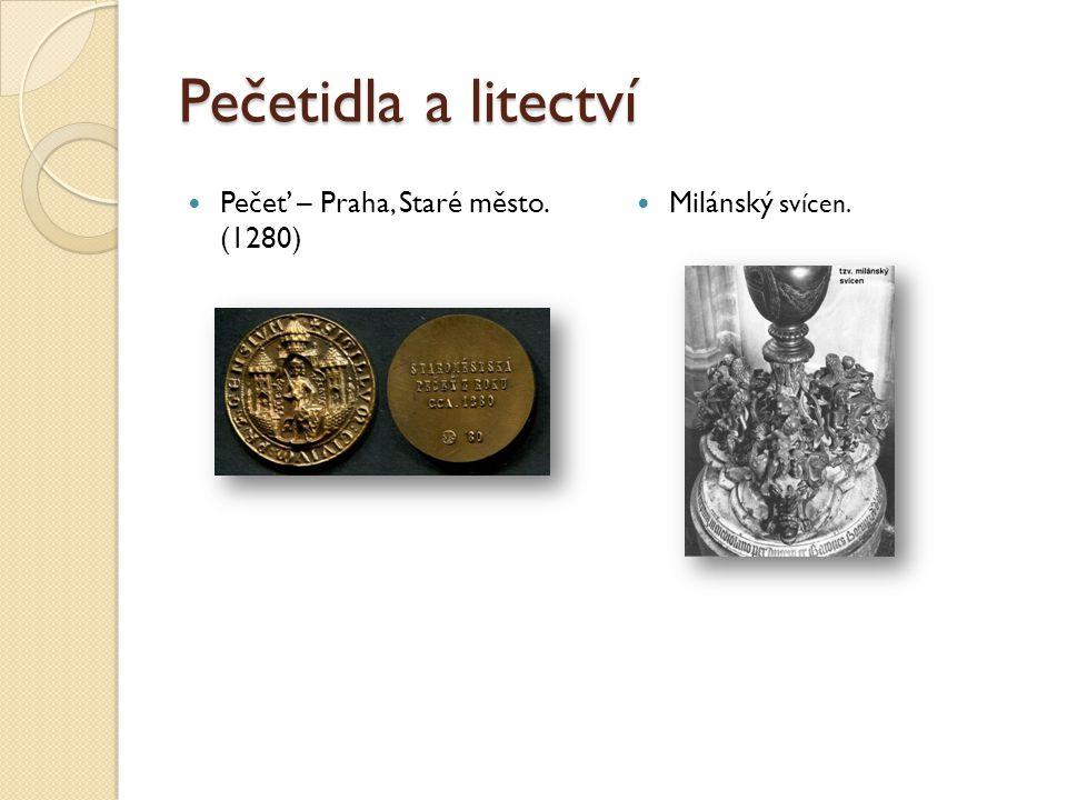 Pečetidla a litectví Pečeť – Praha, Staré město. (1280)