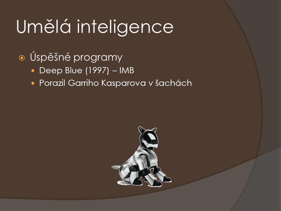Umělá inteligence Úspěšné programy Deep Blue (1997) – IMB