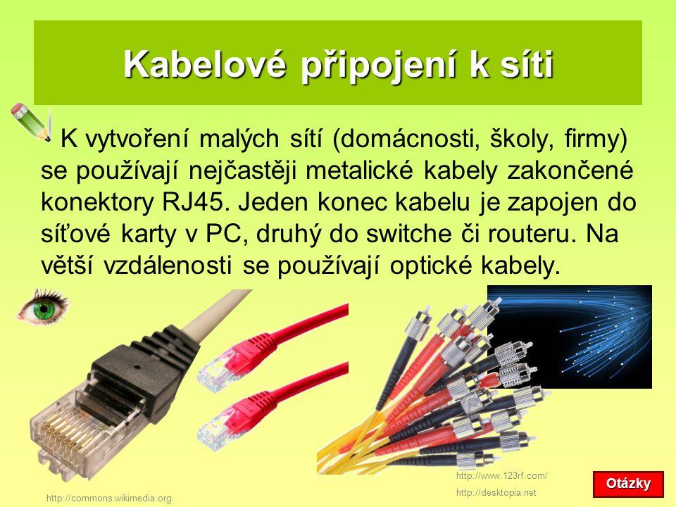 Kabelové připojení k síti