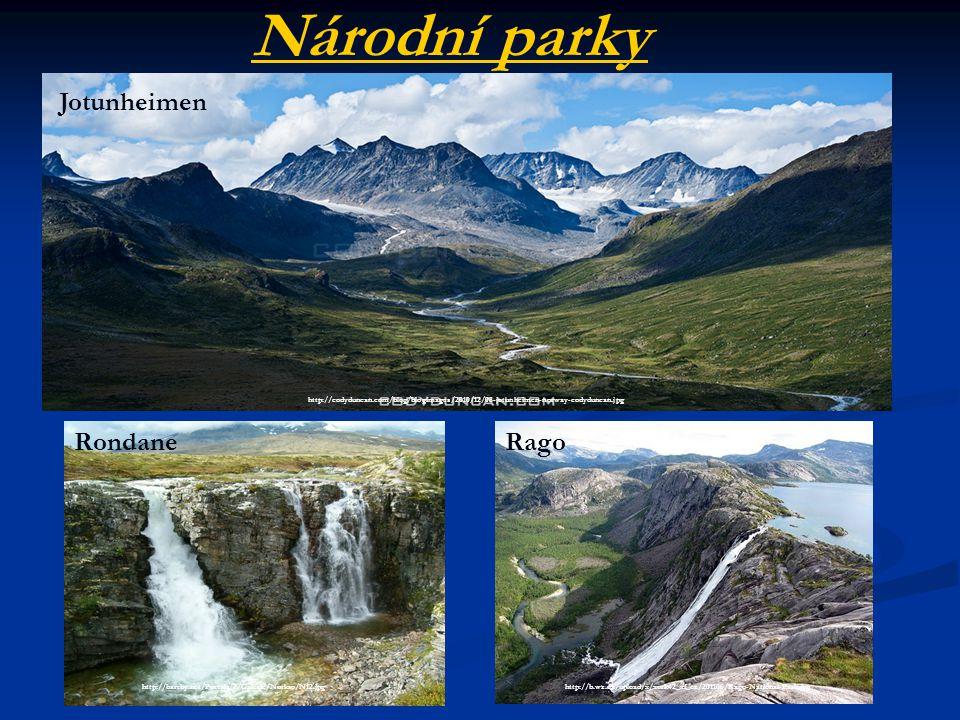 Národní parky Jotunheimen Rondane Rago