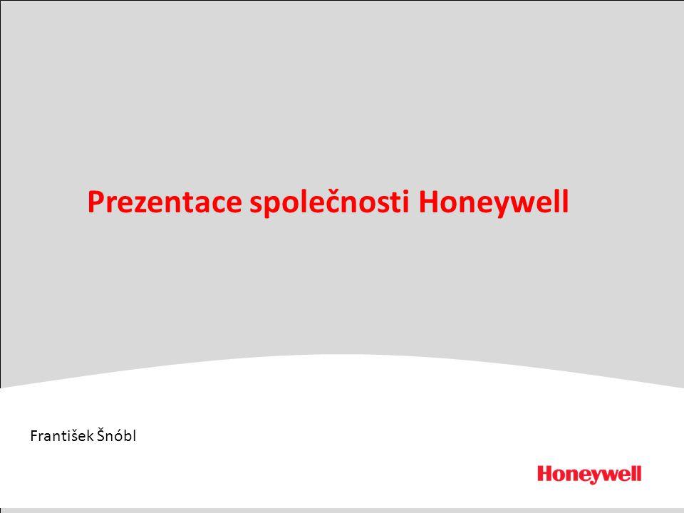 Prezentace společnosti Honeywell