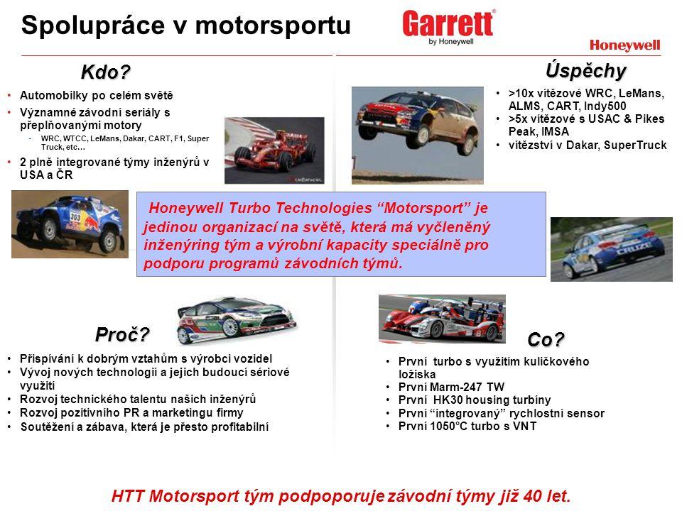 Spolupráce v motorsportu