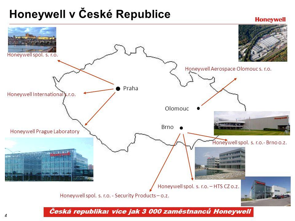 Honeywell v České Republice