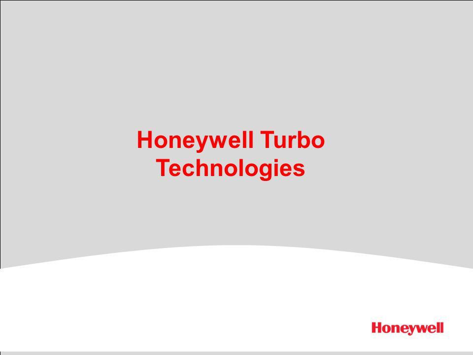 Honeywell Turbo Technologies