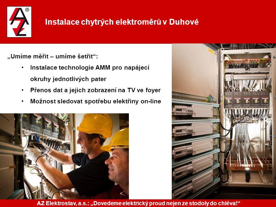 Instalace chytrých elektroměrů v Duhové: sečteno a podtrženo