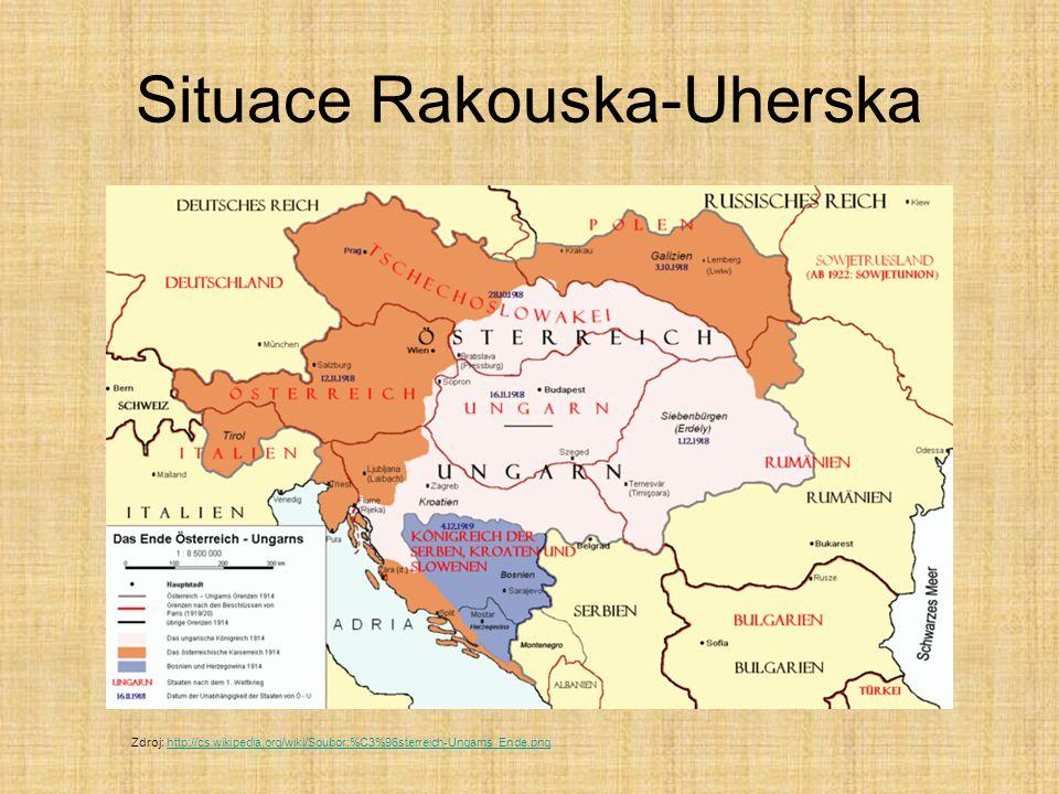 Situace Rakouska-Uherska