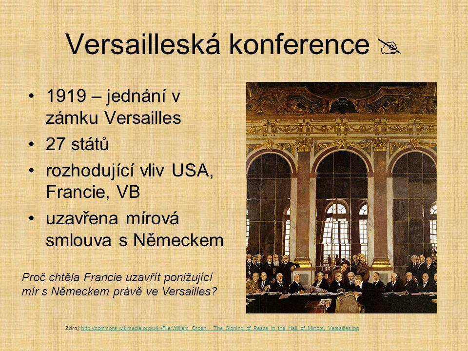 Versailleská konference 