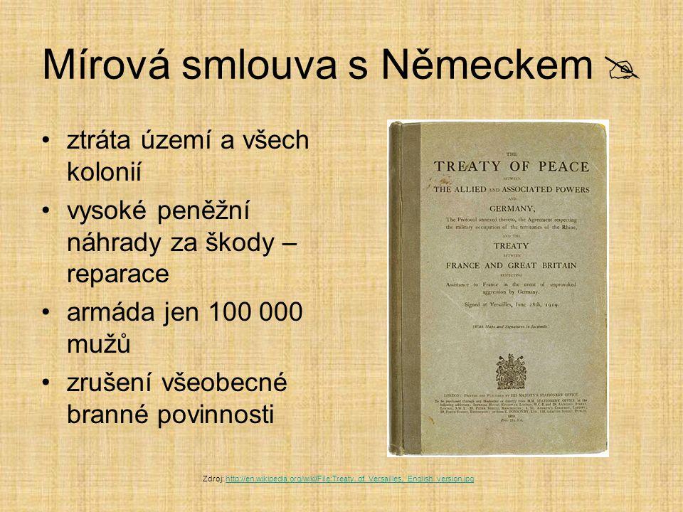 Mírová smlouva s Německem 