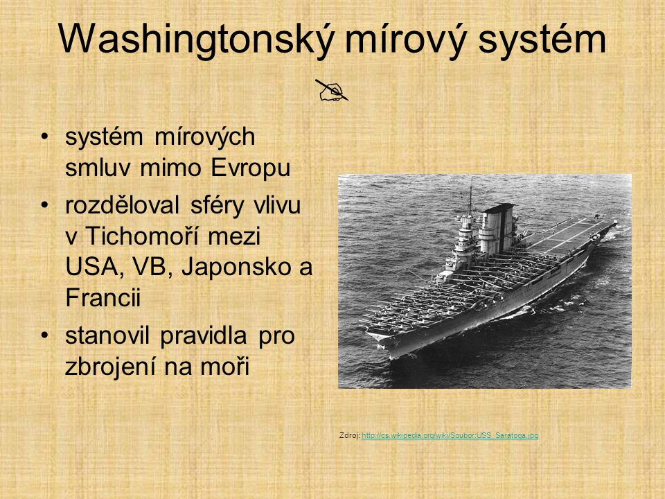 Washingtonský mírový systém 
