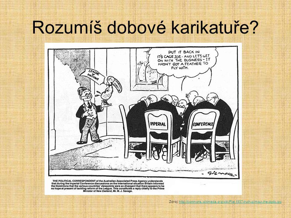 Rozumíš dobové karikatuře