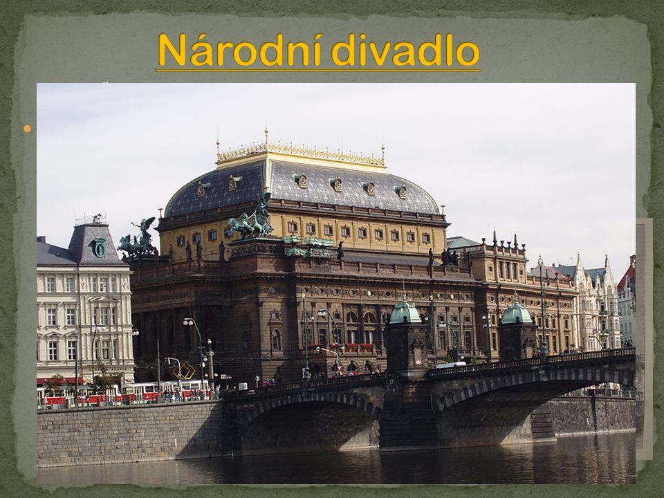 Národní divadlo Protože Češi stále neměli své vlastní divadlo, rozhodli se vlastenci, že si postaví své vlastní české Národní divadlo.