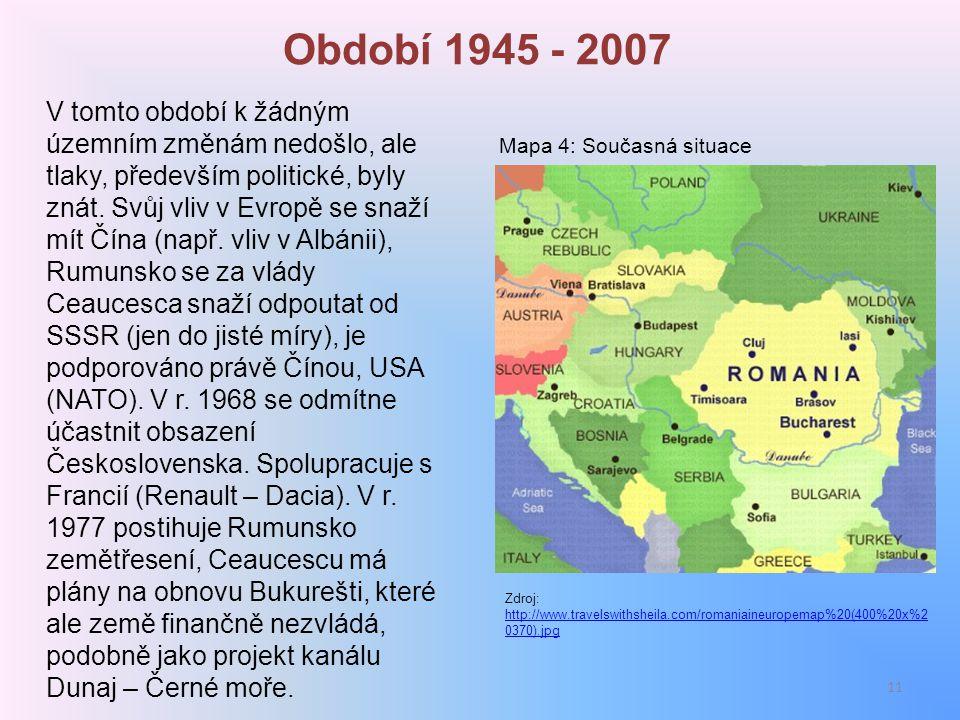 Období 1945 - 2007