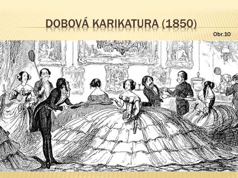 DOBOVÁ KARIKATURA (1850) Obr.10