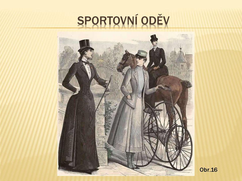 Sportovní oděv Obr.16