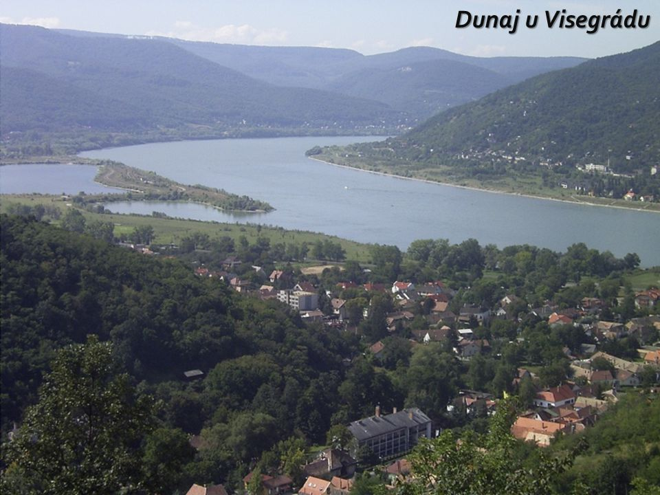 Dunaj u Visegrádu