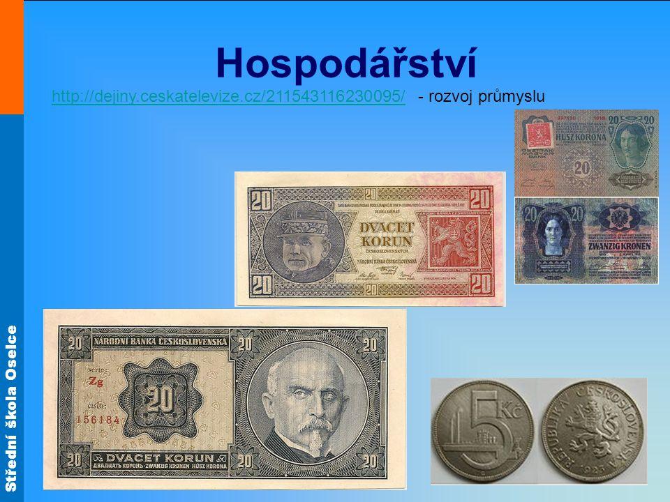Hospodářství http://dejiny.ceskatelevize.cz/211543116230095/ - rozvoj průmyslu