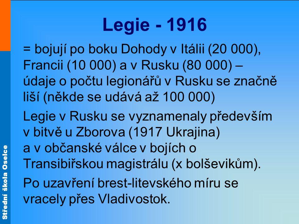 Legie - 1916