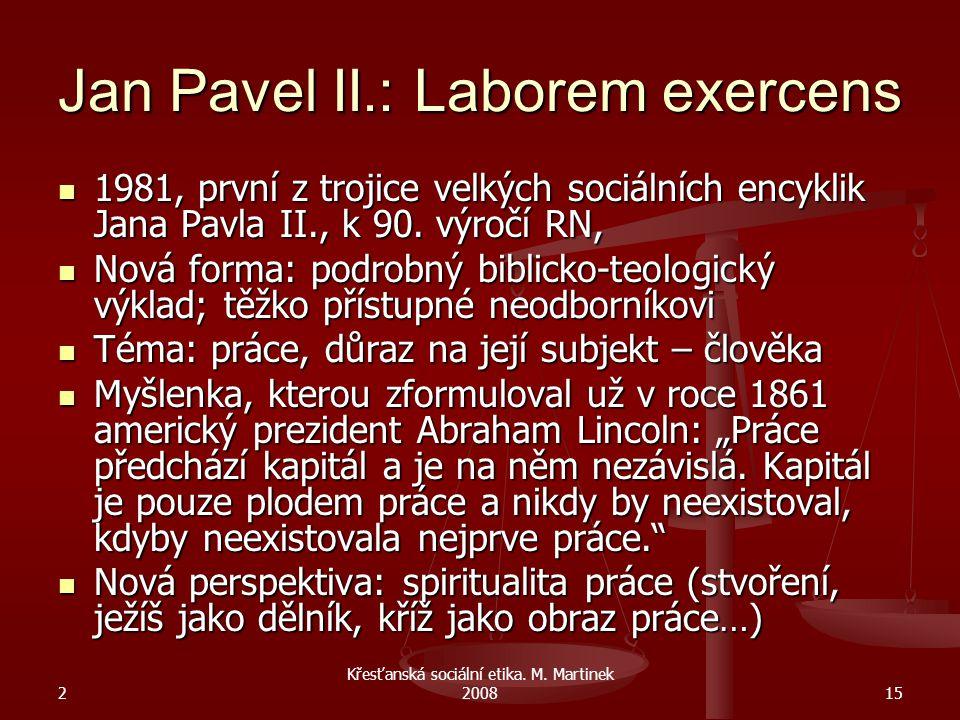 Jan Pavel II.: Laborem exercens
