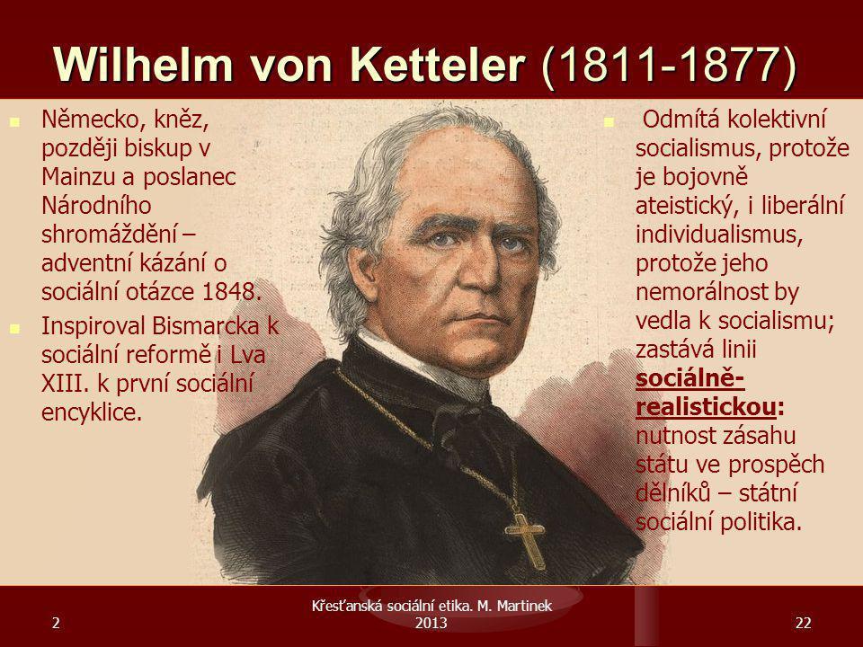 Wilhelm von Ketteler (1811-1877)