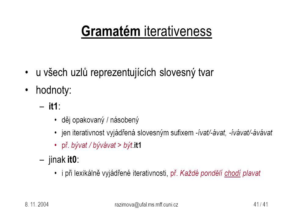 Gramatém iterativeness