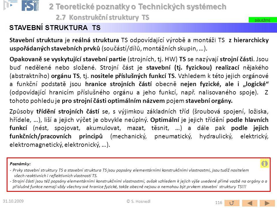 i 2 Teoretické poznatky o Technických systémech