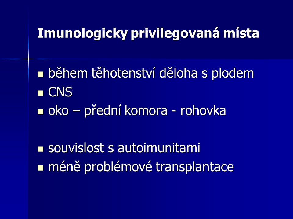 Imunologicky privilegovaná místa