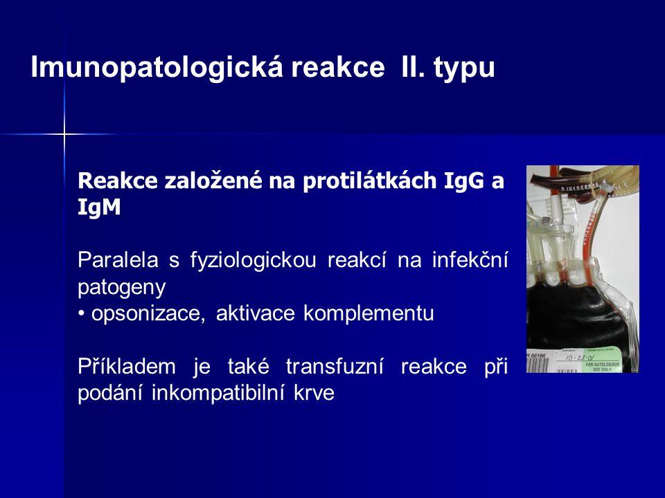 Imunopatologická reakce II. typu