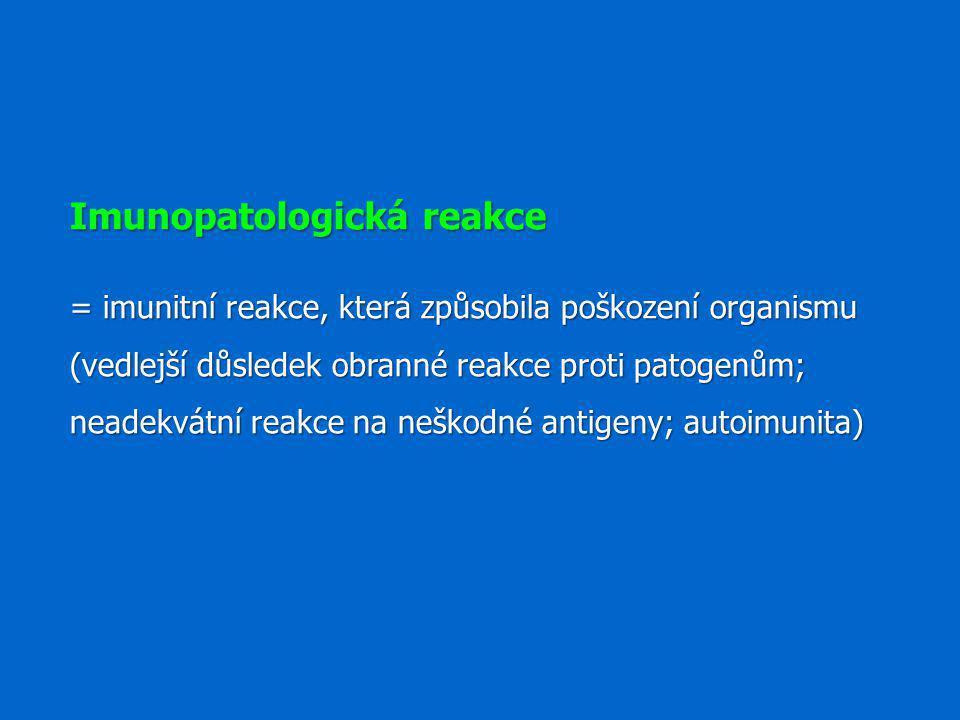 Imunopatologická reakce