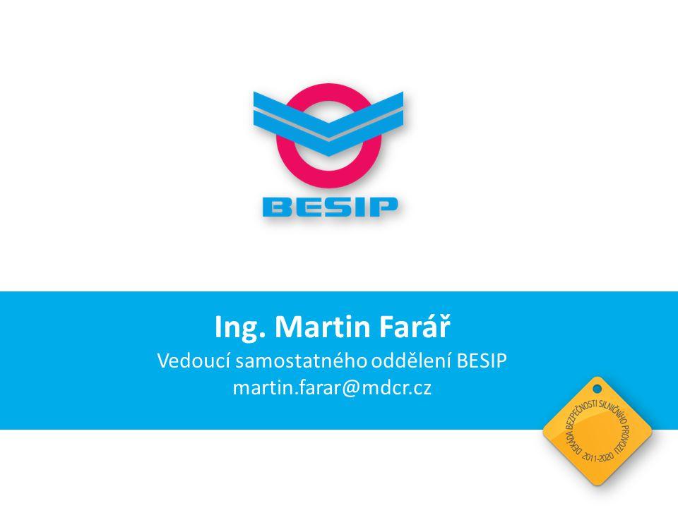 Vedoucí samostatného oddělení BESIP