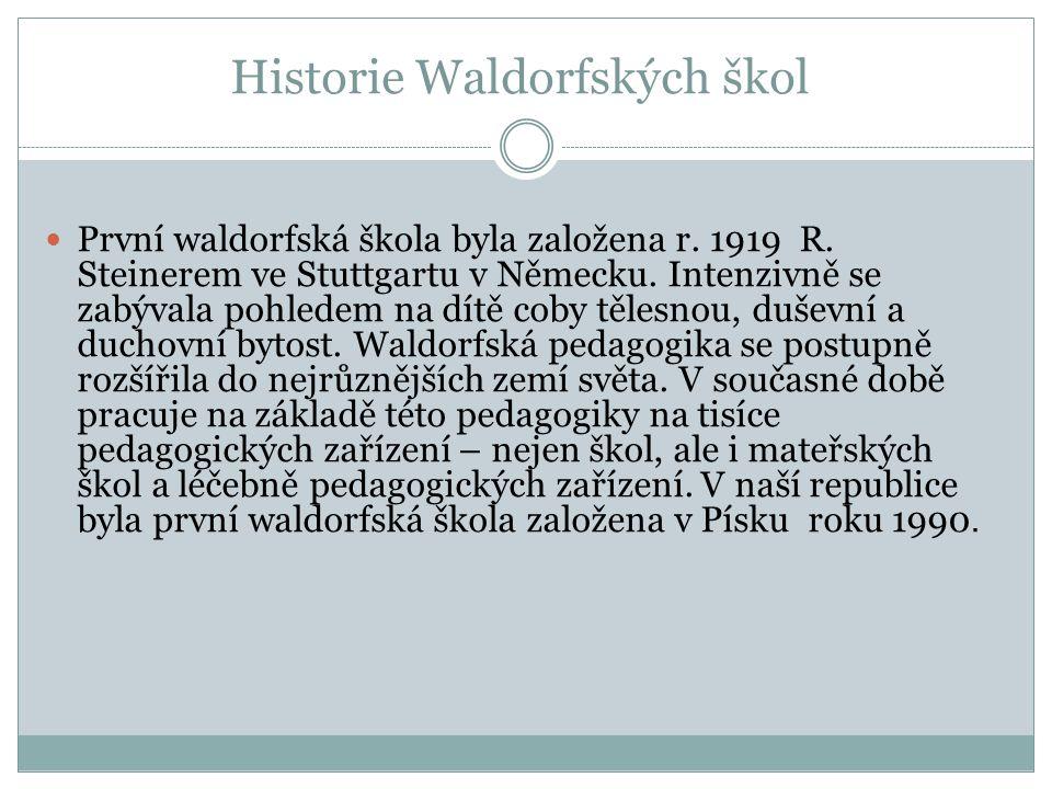 Historie Waldorfských škol