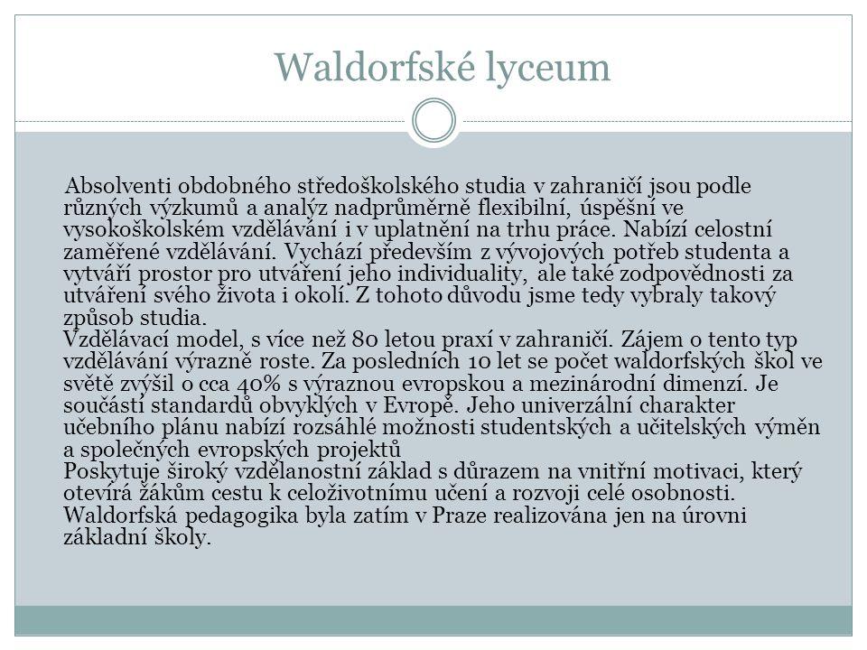Waldorfské lyceum
