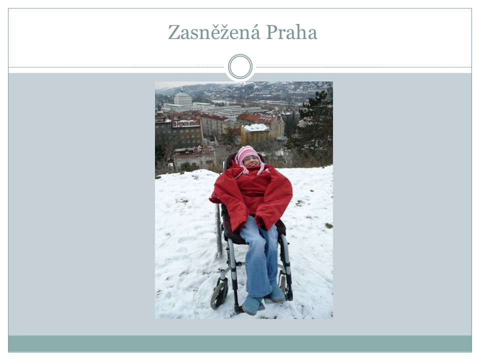 Zasněžená Praha