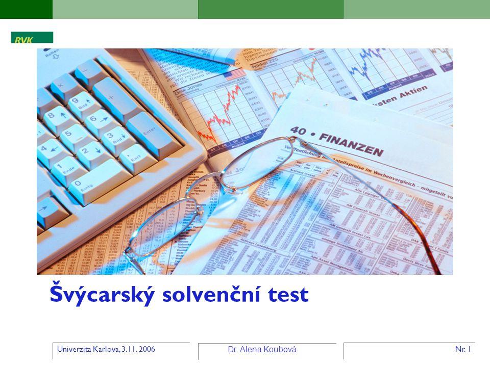 Švýcarský solvenční test