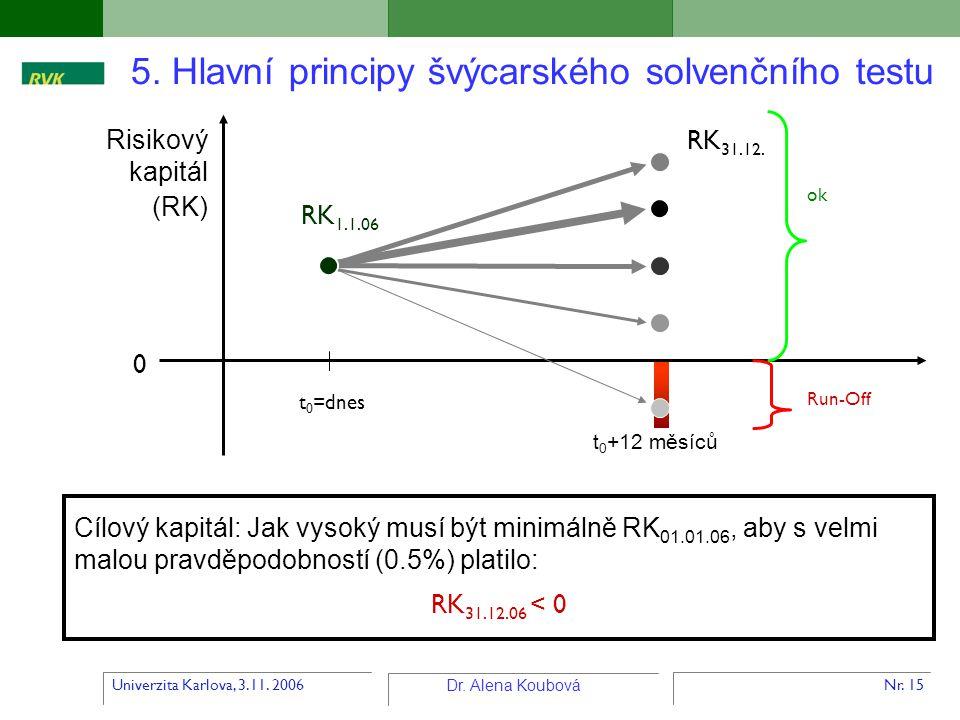 5. Hlavní principy švýcarského solvenčního testu