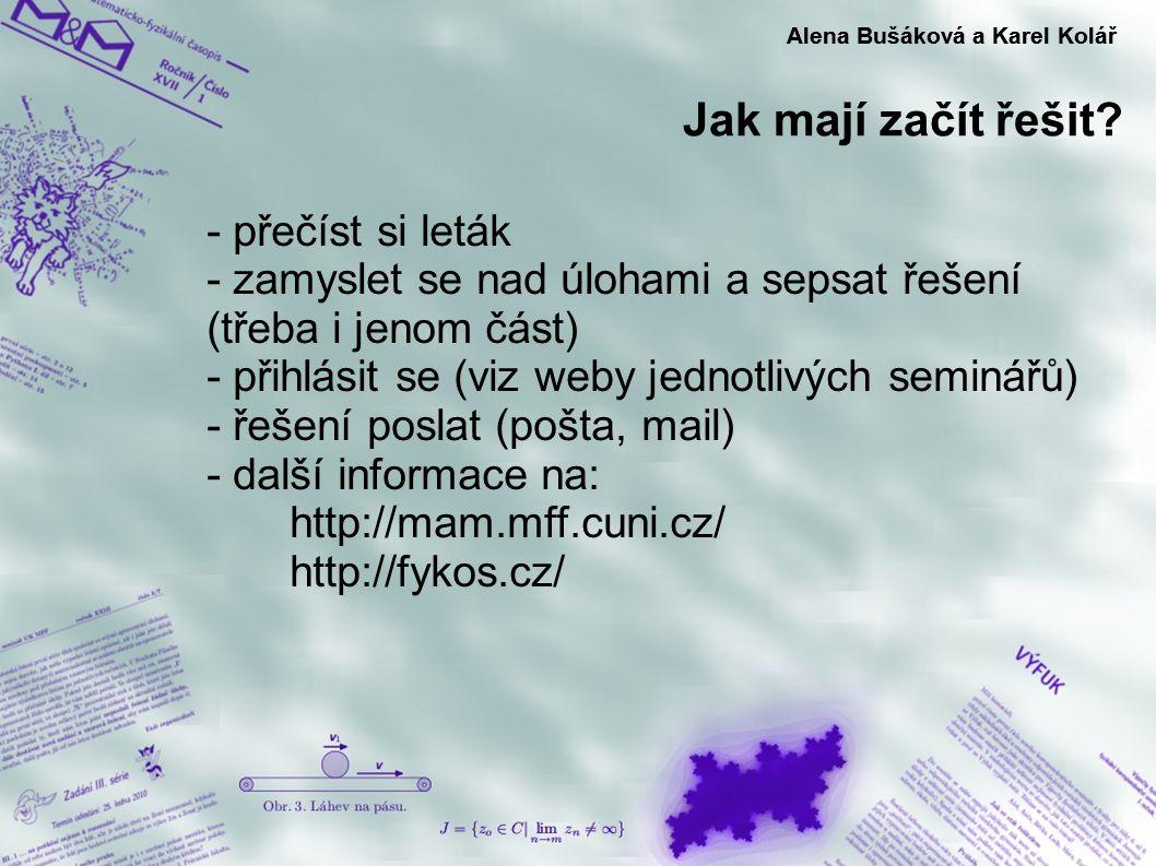 Alena Bušáková a Karel Kolář Alena Bušáková a Karel Kolář