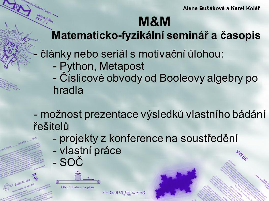 M&M Matematicko-fyzikální seminář a časopis